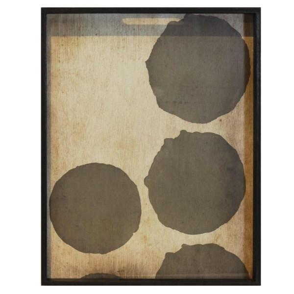 Tablett Silver Dots 20441