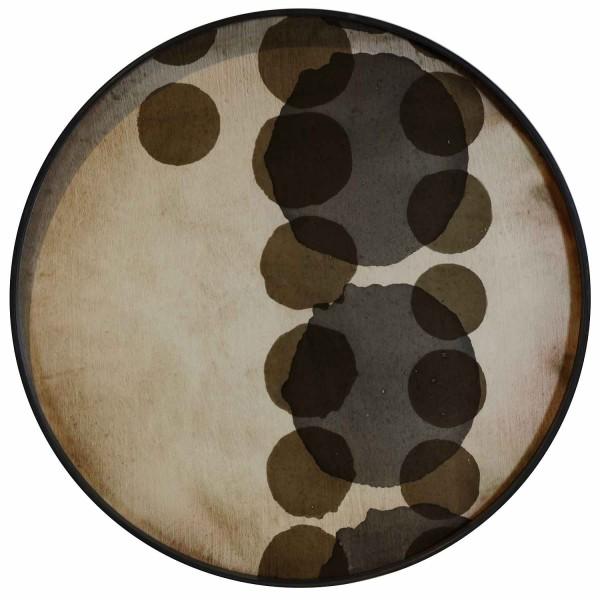 Tablett Slate Layered Dots 20440