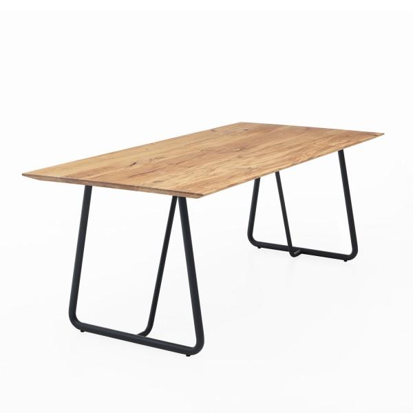 Tisch ZBU dicke Kufe - Eiche 3cm