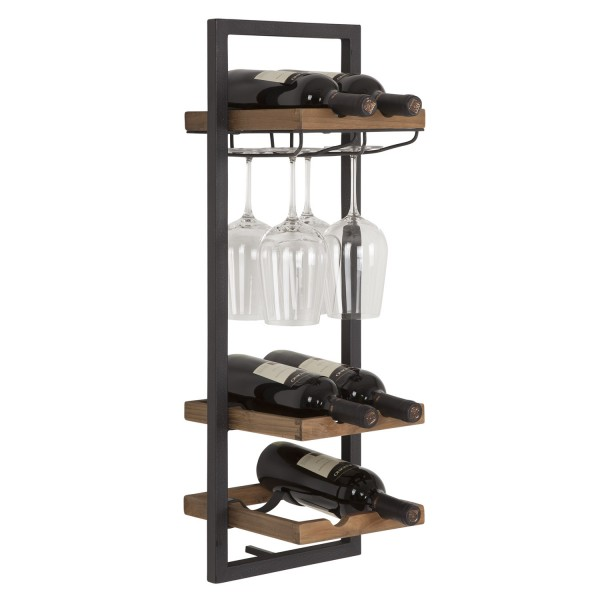 Shelfmate Winerack, type D - 6 bottles + 4 glasses von D-Bodhi