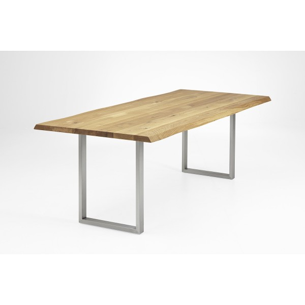 Tisch E1 U-Profil - Eiche 4cm