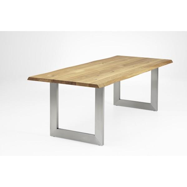 Tisch L1 U-Profil - Eiche 4cm