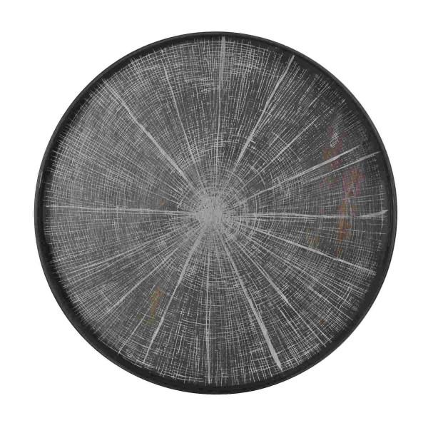 Tablett White Slice driftwood 20305