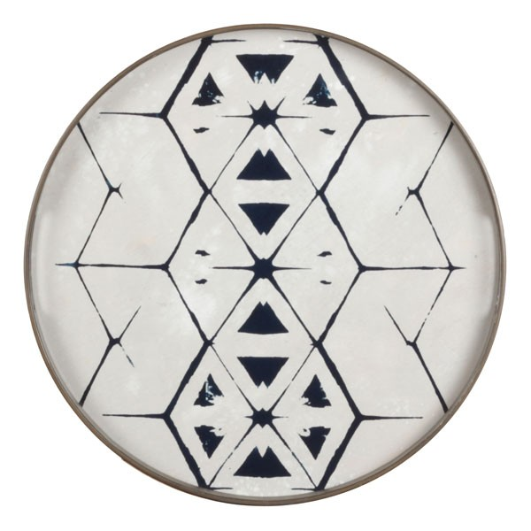 Tablett Tribal Hexagon 20341