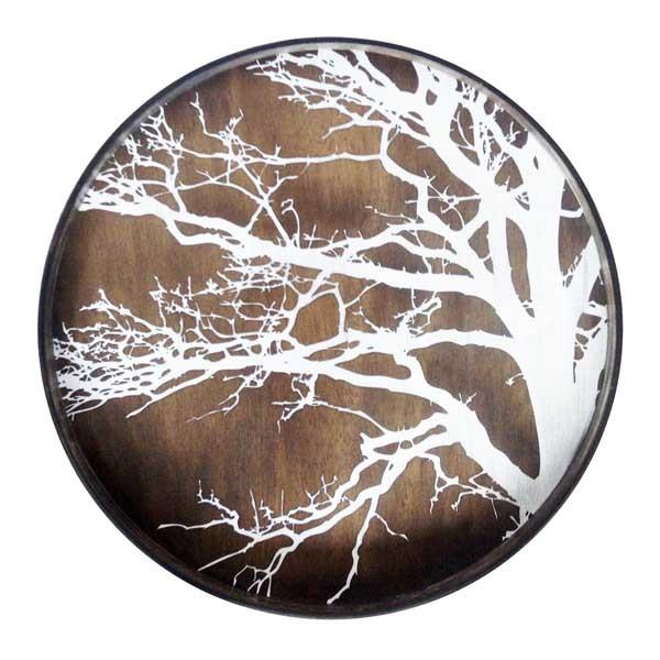 Tablett White Tree 20303