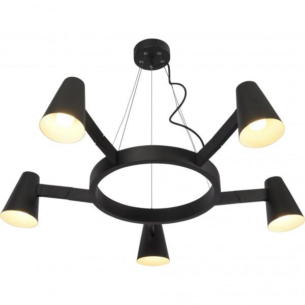 Lampe Biarritz 5 Armig verstellbar