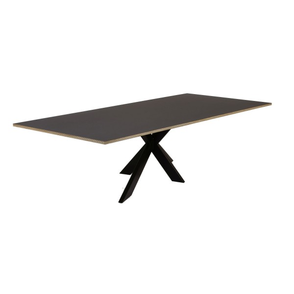 Tisch Fenix Bein C Kreuzgestell schwarz