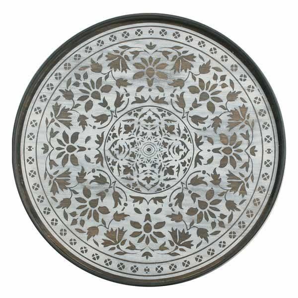 Tablett White Marrakesh 20336
