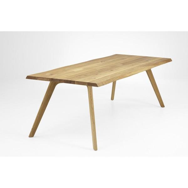 Tisch Eiche mit Holzbein N von Nouvion | exedra
