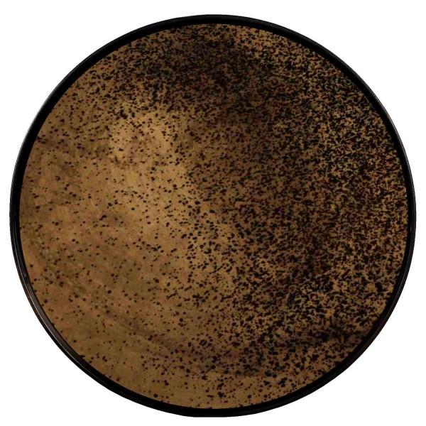 Tablett Bronze Heavy Aged 20403